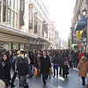 We arrived in Madrid around lunch time on the day after Christmas - the street by the hotel (Preciados) was overflowing with people
