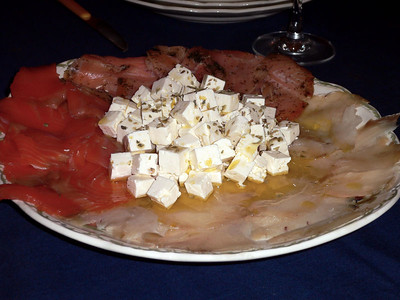Cheese and cold cuts...another Javier creation