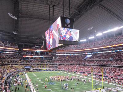 Cowboy Classic: Michigan - Alabama 2012