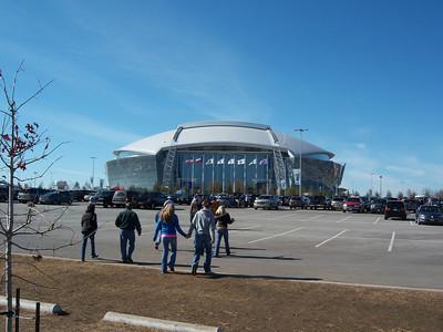 Texas - UNC Hoops at Cowboy Stadium