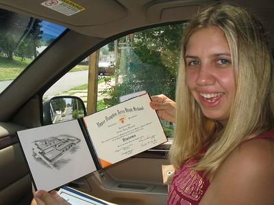 Amber Graduates