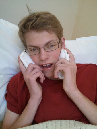 10-28-2011 Spencer's Wisdom Teeth Surgery