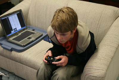 Spencer on the XBox  5-14-2010