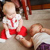 Katie and Braelyn meet for the first time