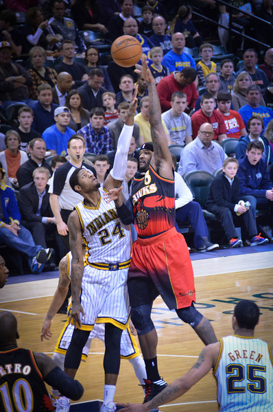NBA, Indianapolis Pacers vs Atlanta Hawks, Paul George