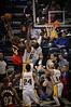 NBA, Indianapolis Pacers, Atlanta Hawks, Johnson scoring over Roy Hibbert