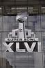Super Bowl 46, Indianapolis, banner,Superbowl XXLVI