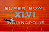 Super Bowl 46, Indianapolis,zip line, Indianapolis Convention Center ,Superbowl XXLVI
