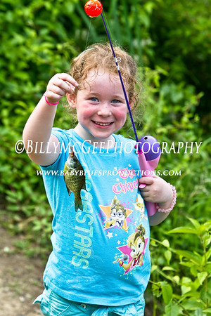 First Fish - Lost Lake Pond - 26 May 2010