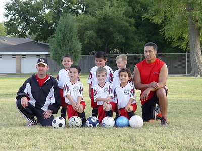 Symon Soccer 1st Year