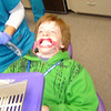 During braces