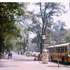 Mexico City, Avenida Reforma.  Summer 1975.