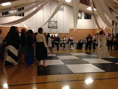 Nichole Estiva Wedding Reception