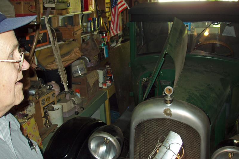 P8242122 Bert's Antique Car Visit with Bert 8-24-2003