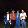 Pictures of Brad Urschel, St. Mark's '79.  Sherman Zimmerman, Charles Quisenberry, Brad, Hal Urschel.