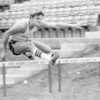 Pictures of Brad Urschel, St. Mark's '79.  Track meet at Fort Worth Country Day School.