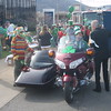 Hank and Leslie Jo Waters and thier Goldwing-Hannigan rig