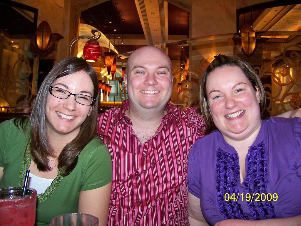 Chrissy, James (Prince Charming) and Dani - 19Apr09
