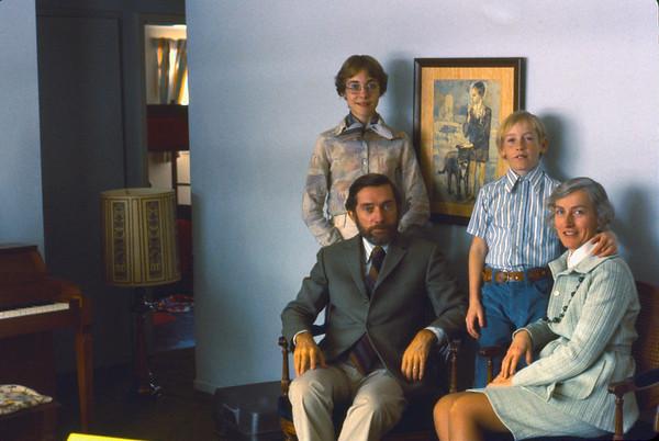 Family.  Park Forest.  1977.