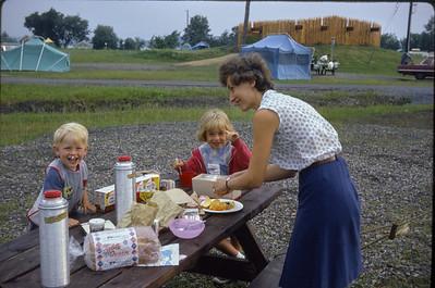 Expo 1967.  Campsite.