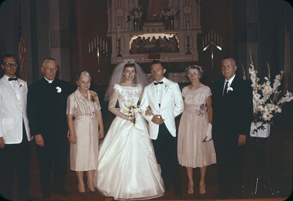 Parents and Bridal couple
