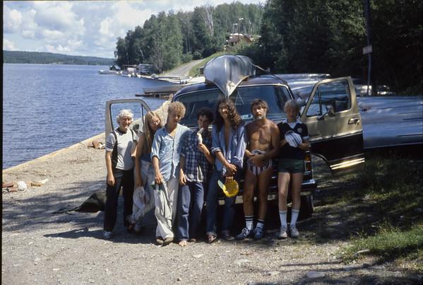 Finale.  Canoe trip.