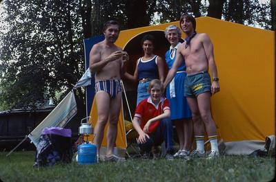 Campers. Zagreb, Croatia.