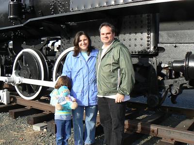 Steaming Tender - 11/26/2006