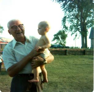 Stef and Grandpa Fisher