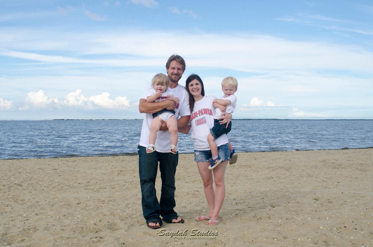Stephanie & Jayson Family Portait Summer 2015