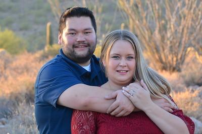 Stephanie Robinson & Ryan Thompson Engagement Photos