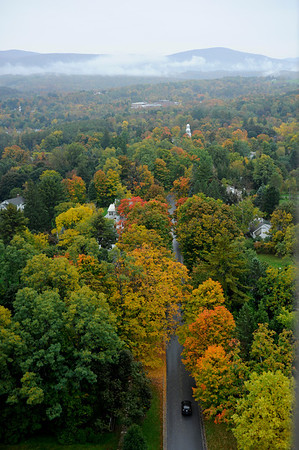 View from the top of Battle of Bennington Monument