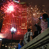 Fireworks in the city- July 2, 2014