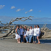 Barbara and Mason Stewart Family Gathering at Jekyll Driftwood Beach 05-29-16