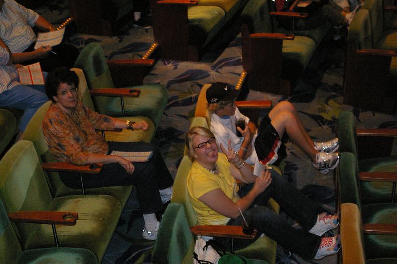 Alask Cruise 2006 Bingo <br /> The gang paying bingo