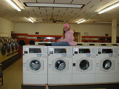 "Stormie says...""the Washer Express""."