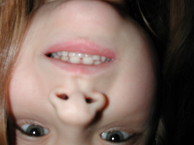 an upside down picture of me I didn.t know I took!