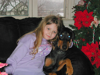 Hi, I got this wonderful dog just after Christmas 2006. Her name is Gabby!!