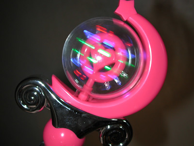 This is a neat toy. Mommy got from some guy selling it. It spins and lights up. It plays music.   ( Picture by Stormie.)