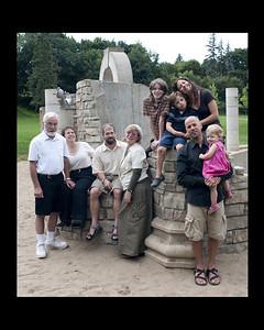 family ruins 8x10