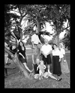 family tree bw 8x10
