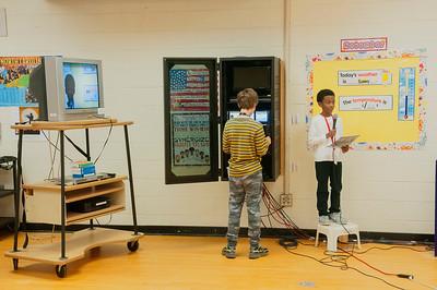 Jordan Strayhorn Weather Report @ Crown Point Elementary 11-23-15