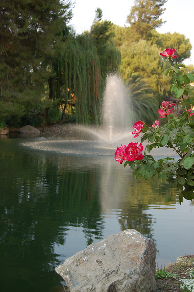 This, and the next 4 pictures, show the beautiful surroundings of Westlake Village Inn.