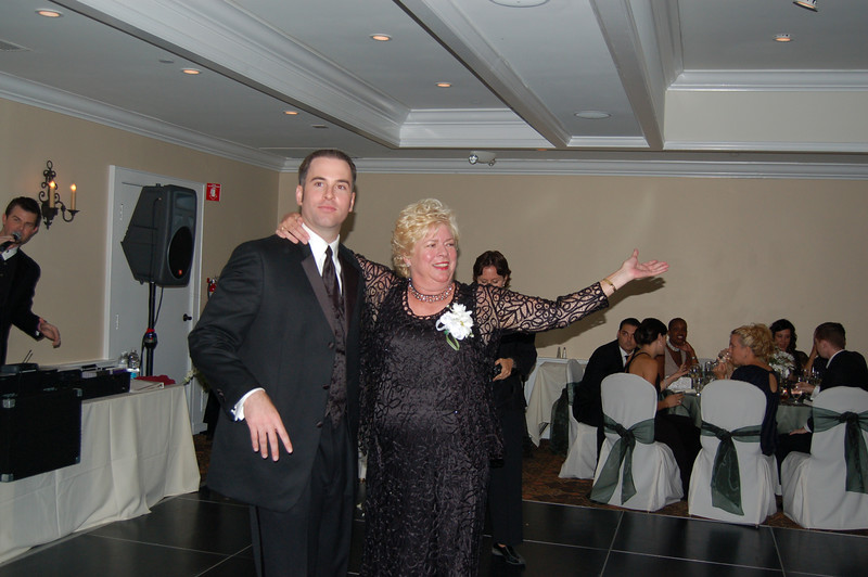 Grand finale to the Mother and Son dance!
