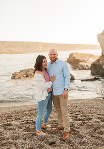 Alexandria Vail Photo anniversary Session Montana De Oro Stump 000