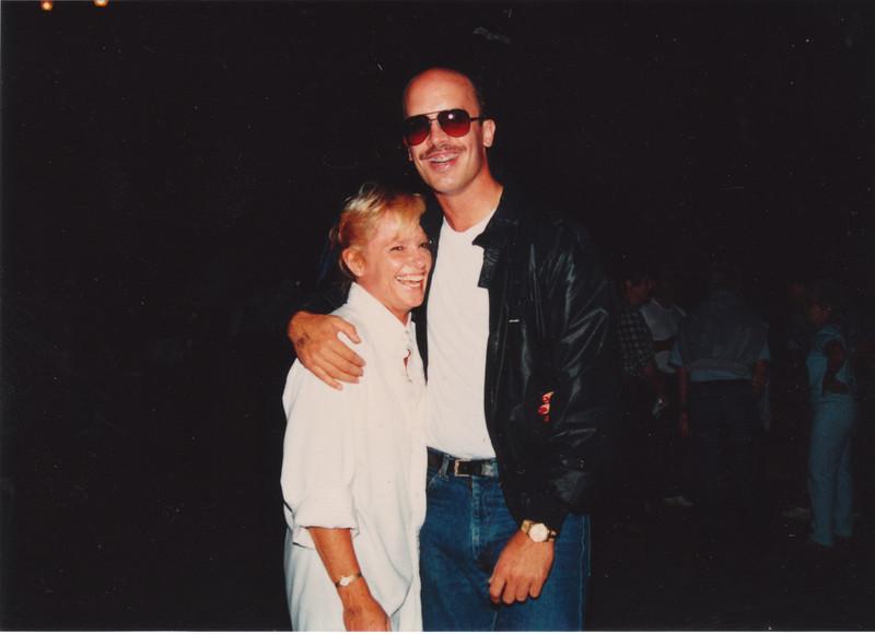 Our first date, June, 1987.  Oceanside Pier.  Twist contest winners.