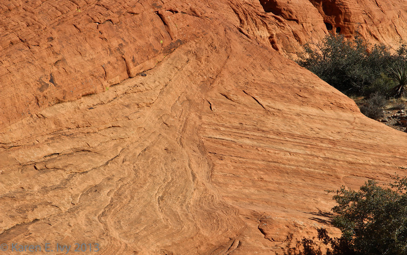 Calico Hills - water patterns?