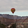 Hot-air balloon rides in the neighborhood - odd streaks are the window I took it throguh