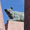 Cougar statue, Red Rock visitor center