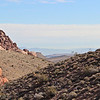 Looking east from Calico Hills